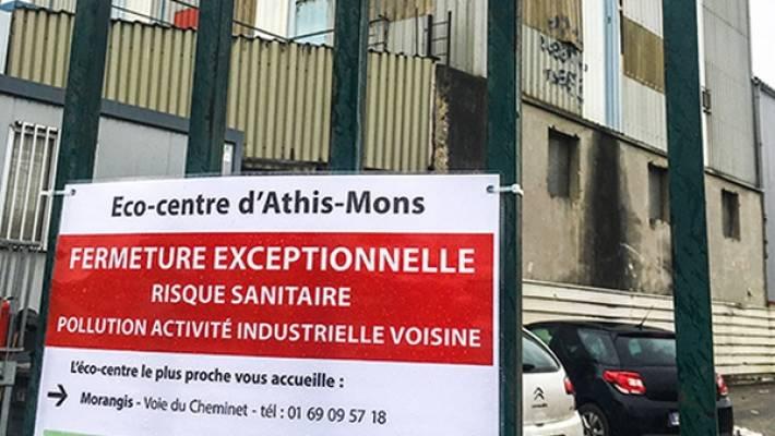 Athis-Mons : la déchetterie devrait rouvrir mi-janvier (Le Parisien 17/12)
