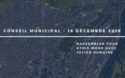 Conseil municipal du 18/12/2019 = Notre analyse du Budget 2020
