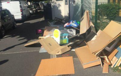 Les dépôts sauvages d'ordures dans Athis-Mons, ça suffit !  Des solutions existent.
